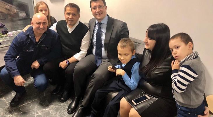 Николай Расторгуев исполнил желание девятилетнего нижегородца Коли Чистякова