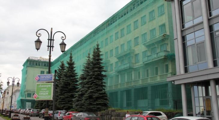 Нижегородскую гостиницу «Россия» начнут сносить в течение двух недель