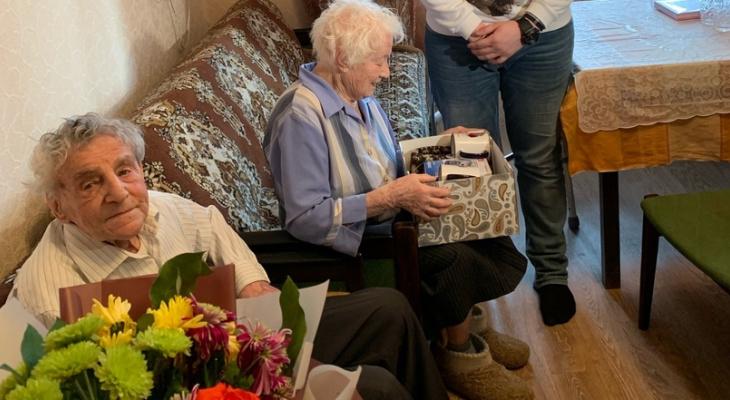 Самому пожилому труженику тыла Моисею Альшицу исполнился 101 год