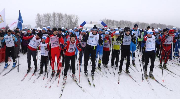 Во всероссийской гонке «Лыжня России» приняли участие 13 тысяч нижегородцев