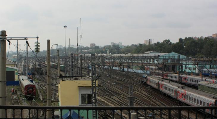 РЖД отменила некоторые поезда между Нижним Новгородом и Москвой