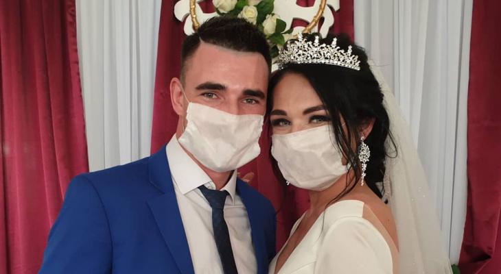 Первая онлайн-свадьба прошла в Нижегородской области