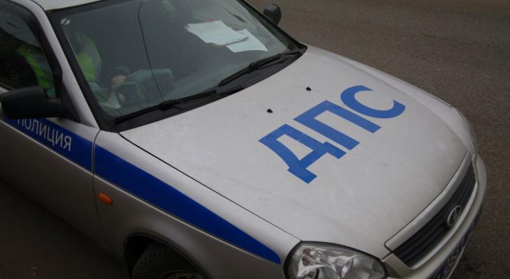 Двое детей пострадали в аварии в Лысковском районе