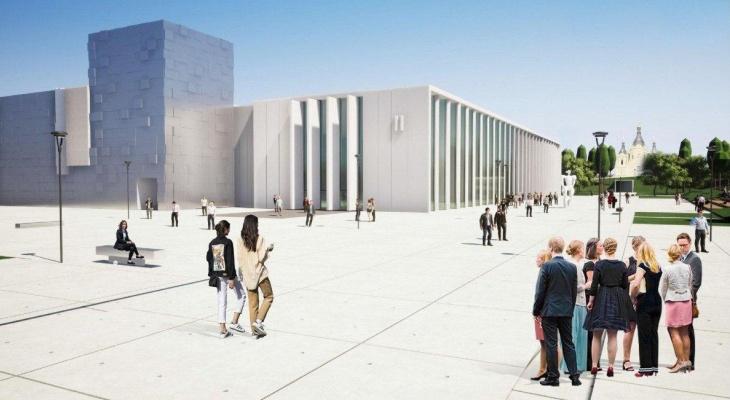 Как будет выглядеть новый павильон Нижегородской ярмарки: архитекторы представили дизайн-проект (ФОТО)