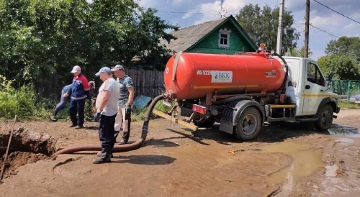 15,5 тысяч жителей Балахны остались без холодной воды