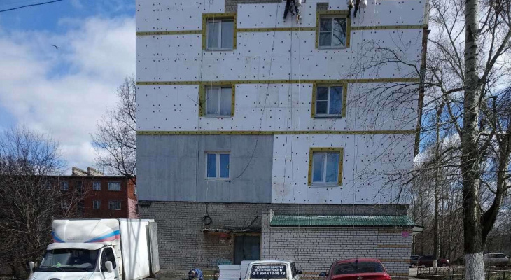 ДУКи пяти районов Нижнего Новгорода приступили к ремонту кровель и фасадов домов