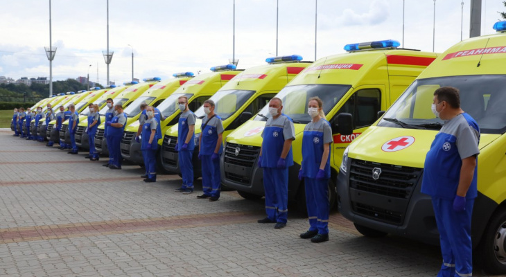 Нижегородские больницы получили 27 новых автомобилей скорой помощи