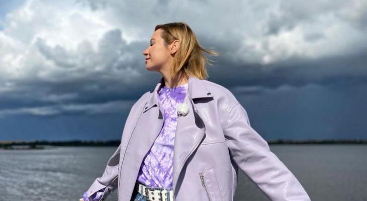 Ида Галич сняла очередной выпуск своего шоу в Нижнем Новгороде