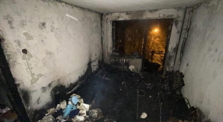 Две женщины-соседки погибли на пожаре в Ленинском районе