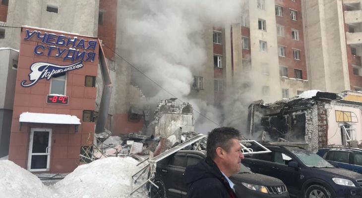 Опубликованы фото и видео с места взрыва на Мещерском бульваре