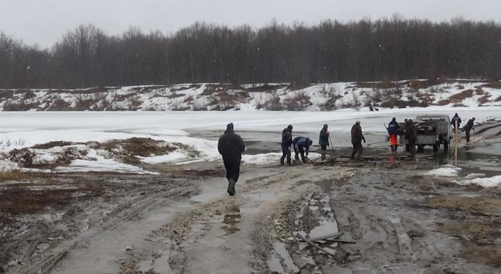 Закрыта ледовая переправа, соединяющая Нижегородскую область и Чувашии