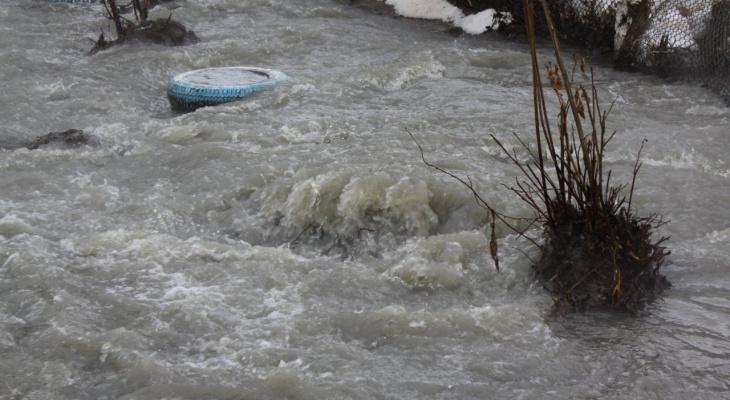 Затоплены 5 низководных автомобильных мостов в Нижегородской области