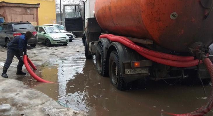 ДУКи пяти районов Нижнего Новгорода откачивают талые воды