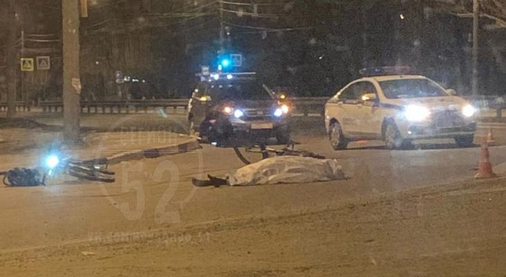 Велосипедист погиб под колесами Камаза в Нижнем Новгороде