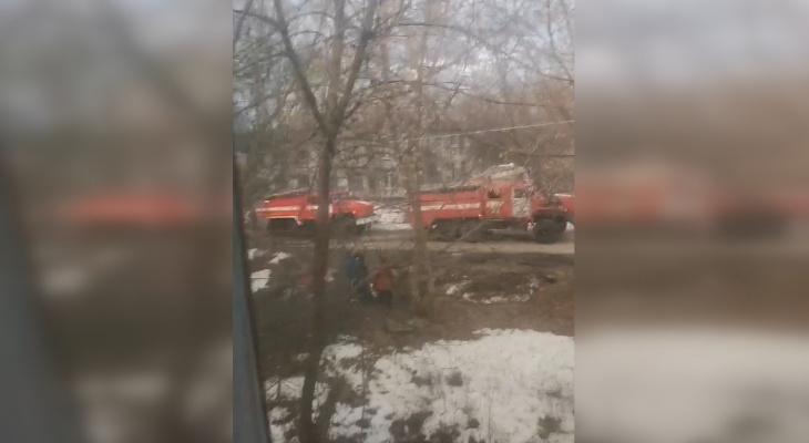 Нижегородец погиб на пожаре в многоквартирном доме в Сормове 8 апреля