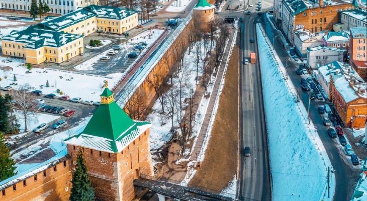 В Нижнем Новгороде кремль частично закроют для посещения до августа