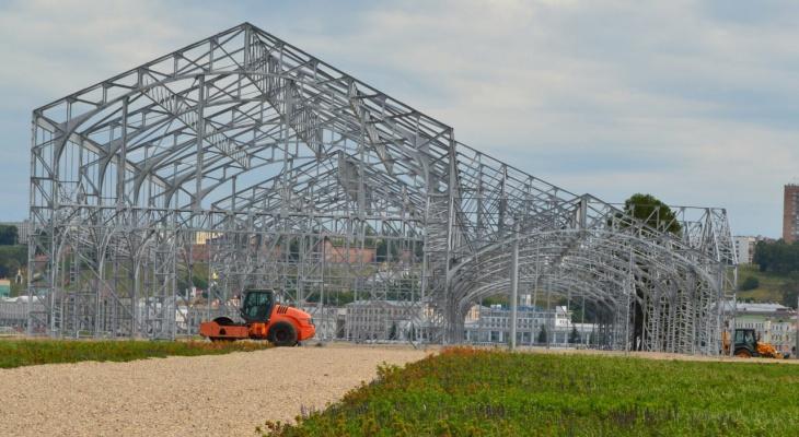 Концертный зал за 660 млн рублей оборудуют в пакгаузах на Стрелке в 2021 году