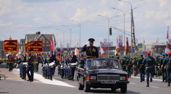 Движение транспорта перекроют в центре Нижнем Новгороде из-за репетиций парада