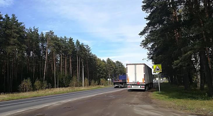 На трассе М-7 в Володарском районе ограничат движение транспорта с 19 апреля