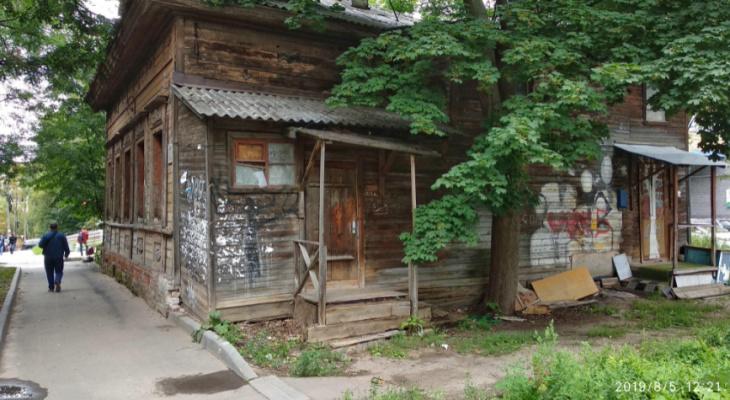 Режим ЧС введен в Нижегородском районе из-за аварийного дома