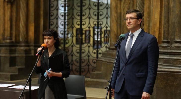 Глеб Никитин и директор Пушкинского музея подписали соглашение о сотрудничестве