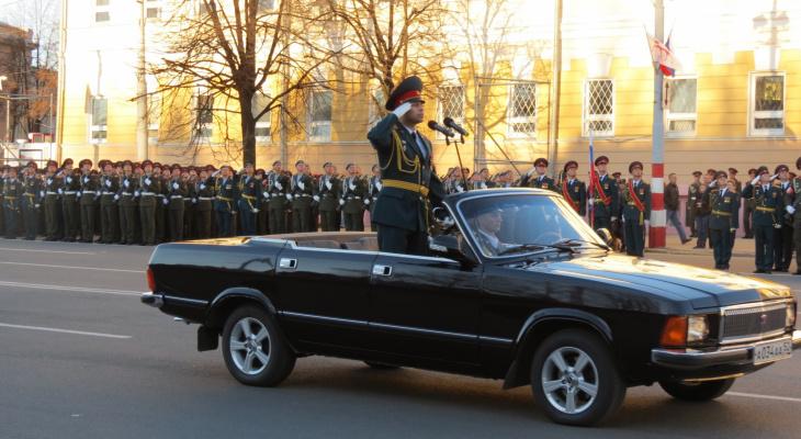 Новый график репетиции Парада Победы изменит маршруты нижегородских автомобилистов