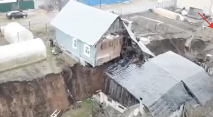 Названы сроки предоставления жилья пострадавшим от схода грунта в Караулово Кстовского района
