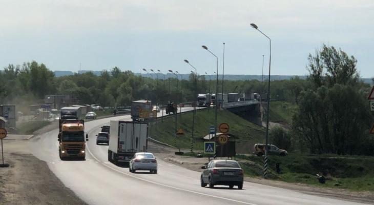 Движение транспорта по двум мостам ограничат на трассе М-7 в Нижегородской области