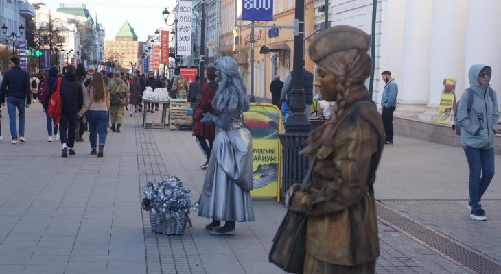 Теплая и пасмурная погода установится в выходные 1 и 2 мая в Нижнем Новгороде
