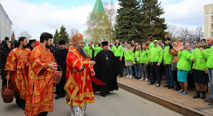 Движение транспорта в центре Нижнего Новгорода ограничат из-за крестного хода 2 мая