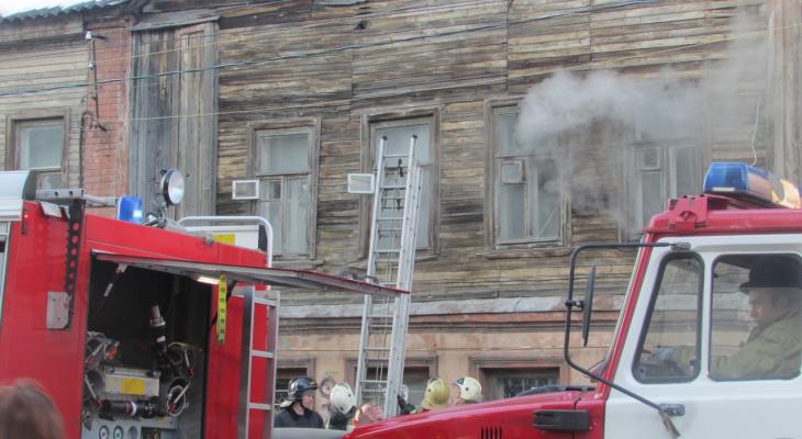 Два человека погибли на пожаре в жилом доме в Нижегородской области