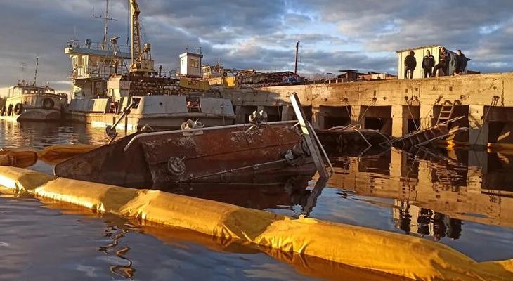Буксир затонул на Волге в Городецком районе 1 мая