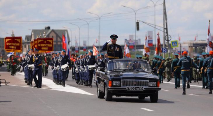 Движение в центре Нижнего Новгорода перекроют 5 и 8 мая из-за репетиций парада Победы
