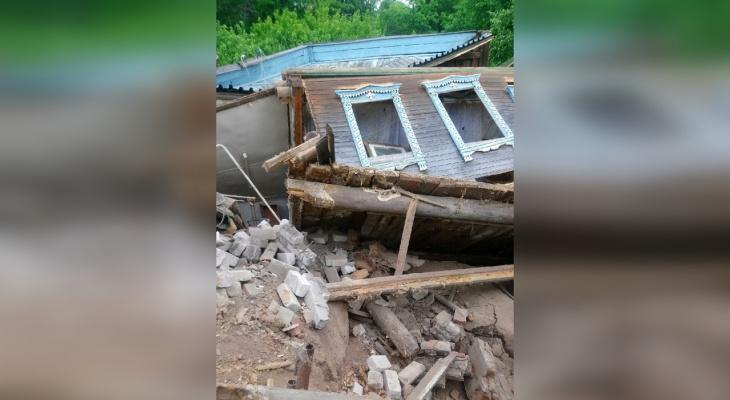Режим ЧС из-за схода грунта ввели в Караулово Кстовского района
