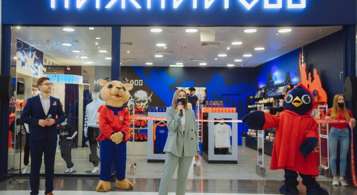 Фирменный магазин «Нижний 800» торжественно открыли в МЕГЕ
