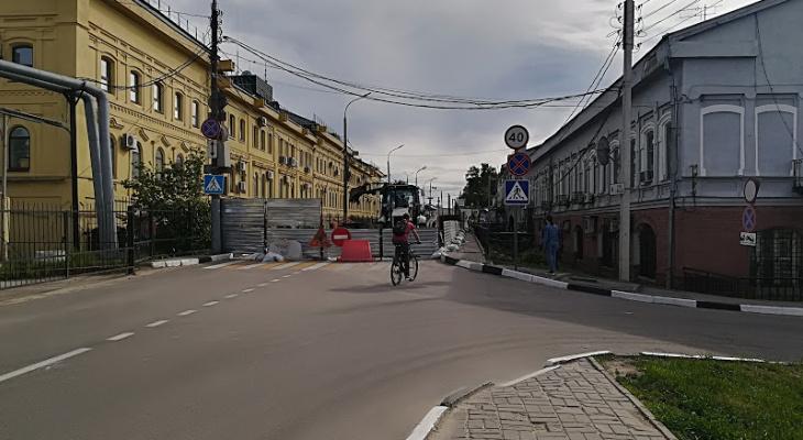 Движение транспорта на Стрелке в Нижнем Новгороде запретят с 9 июня