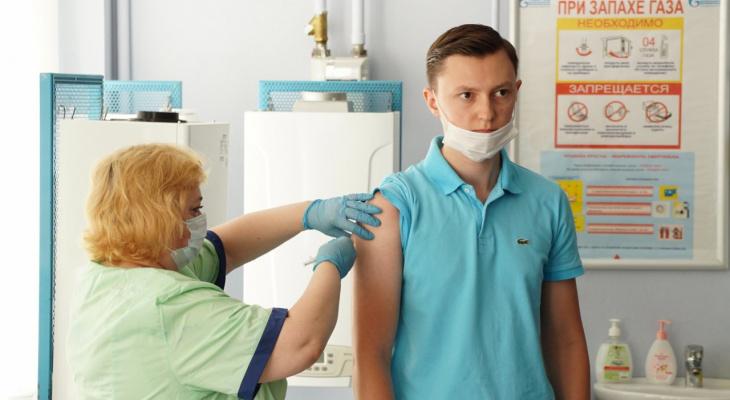 Сотрудники «Газпром газораспределение Нижний Новгород» вакцинируются от коронавируса