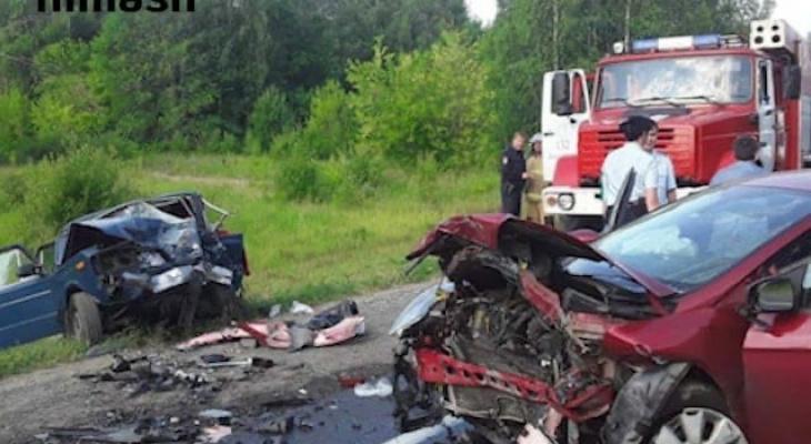 Появились подробности смертельной аварии на трассе в Воротынском районе