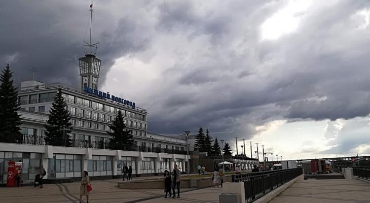 Грозы с ливнем и градом придут в Нижегородскую область 20 июля